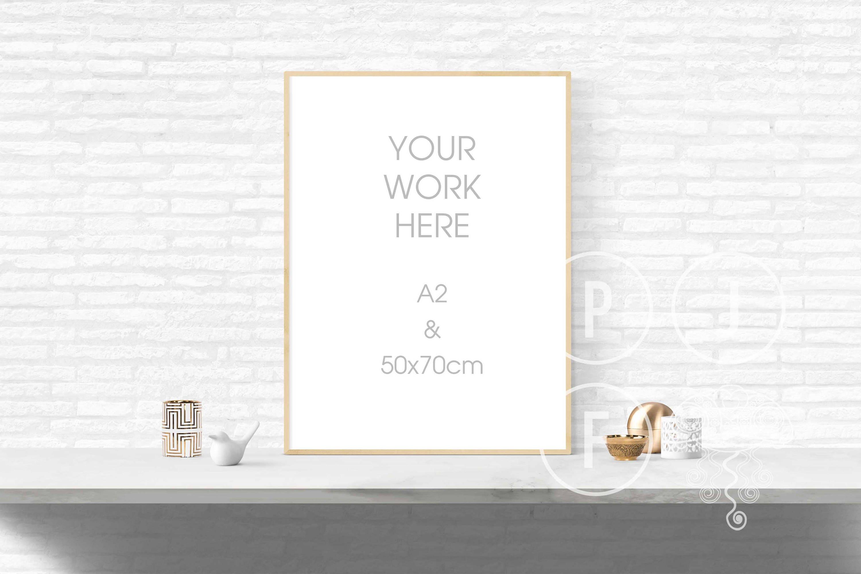 Plakat Rahmen Mockup a2 50 x 70 Rahmen Mock-up Stil | Etsy