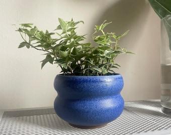Wavy Blue Planter