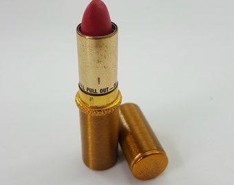 4d08b4d99ce Vintage REVLON Brand Gold 1950s Lipstick Case - Collectible Makeup  Container - Gold/Brass Lipstick Tube - Vanity Decor - Fancy Lipstick Case