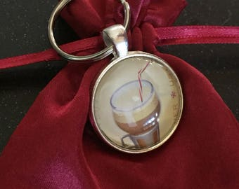 Root-beer Float Keychain/Charm