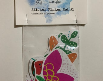 Sticker Flakes Set #1