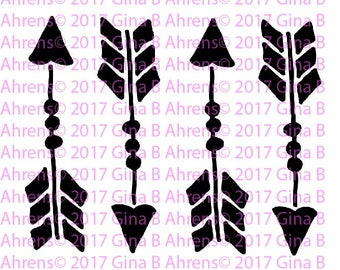 G.Ahrens Design Stencils!!! Arrows