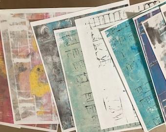 Handmade Print Bundle #2