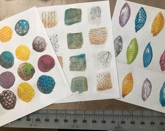 Water Spots Doodle Bundle