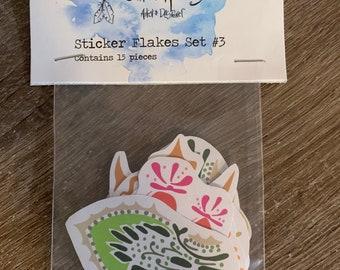 Sticker Flakes Set #3