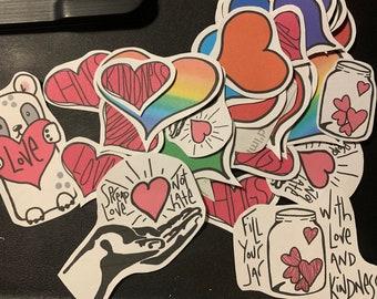 Sticker Flakes Set #12