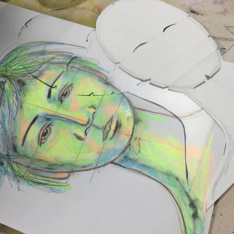Drawing Classes: A Unique Face Oh Boy image 0