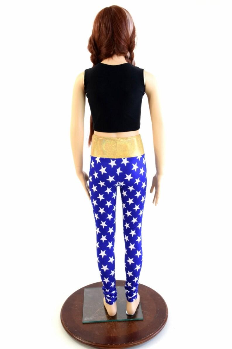 03586385610ab Girls Superhero Leggings Yoga Leggings Sizes 2T 3T 4T and   Etsy