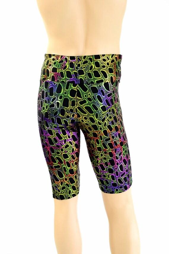 «Sahara» Shorts des hommes dans métallique toxique imprimer imprimer toxique mec Spandex Bro homme Shorts - 154546 3345f0