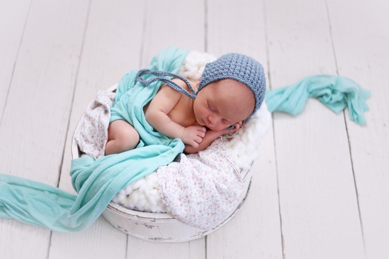 Baby Alpaca Crochet Baby Bonnet textura Baby Bonnet Foto