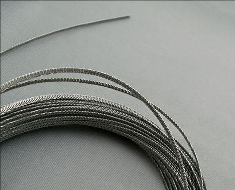 Wissner bone 5 meters pack of Steel Spiral corset boning 9 mm wide