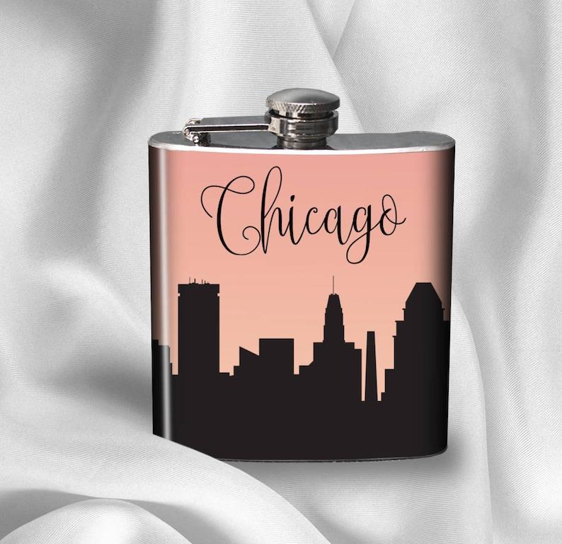 SALE! ! Hip Flask - Cityscapes Flask - City Skylines