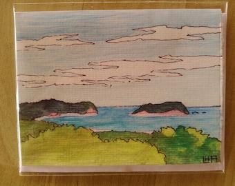 Original Watercolors - Beach Scenes
