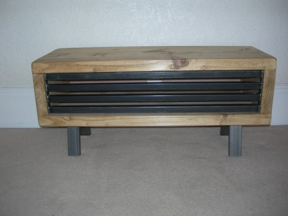 Image 0 Rustic Industrial Tv Stand63
