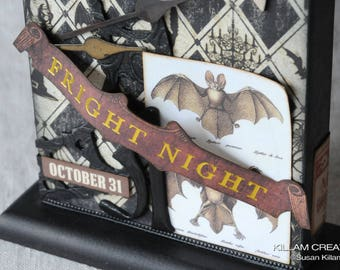 Fright Night Tombstone, Halloween Decoration, A Cure For What Ails You,
