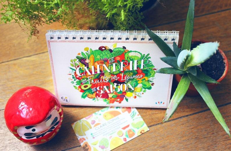 Calendrier perpétuel des fruits & légumes de saison image 0