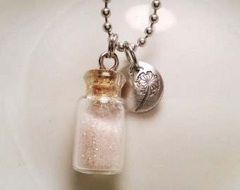Pixie Dust and Dandelion Fluff Necklace