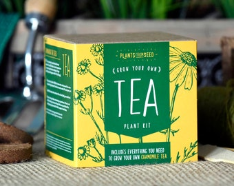 CHRISTMAS SALE!!! - ECO Grow Your Own Chamomile Tea Plant Kit
