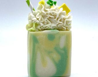 Handmade Artisan Lemon & Lime Soap Bar