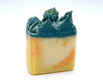 Handmade Artisan Pina Colada Soap Bar