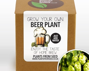 CHRISTMAS SALE!!! - Grow Your Own Beer Plant Kit