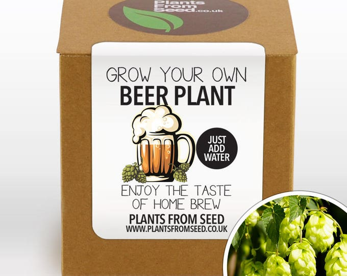 Featured listing image: SALE!!! - Grow Your Own Beer Plant Kit