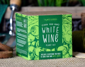 SALE!!! - ECO Grow Your Own White Grape Vine Plant Kit