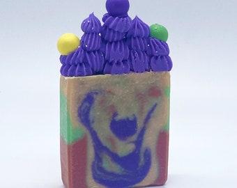 Handmade Artisan Skittles Soap Bar