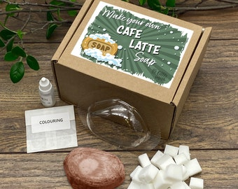 Little Miss Make Your Own Café latte Soap Kit