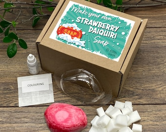 Little Miss Make Your Own Strawberry Daiquiri Cocktail Soap Kit