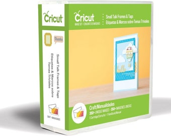 NEW Cricut Small Talk FRAMES And TAGS Cartridge For All Cricut Machines