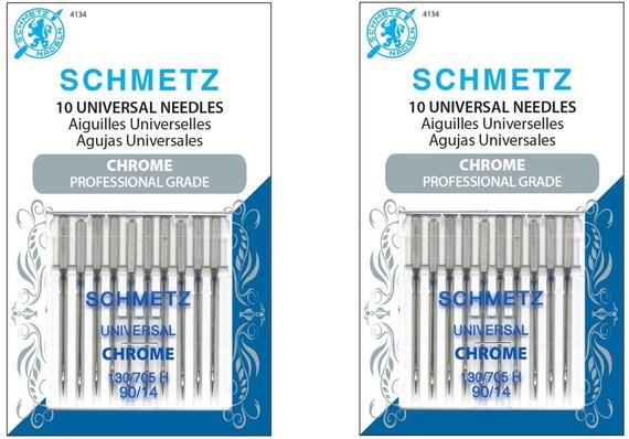 Schmetz Quick Threading Machine Needles Size 90//14 5 Piece Card