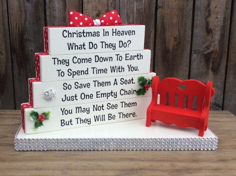 Christmas In Heaven What Do They Do They Come Down To Earth To Spend Time Throw Pillow \u2013 Decorative Pillow