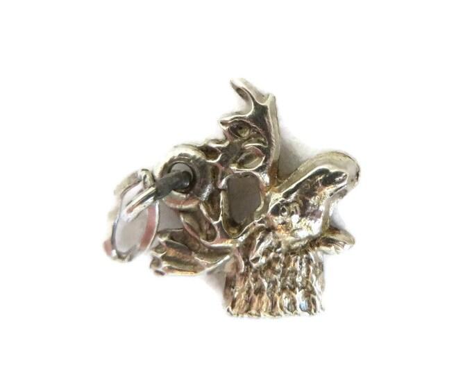 Vintage Bird Charm, Sterling Silver Charm, Figural Charm, Starter Charm, Charm Bracelet Gift idea