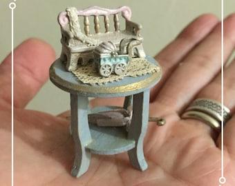 Set miniature hand made by Bea dollshouse.