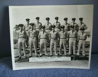 Vintage US AIR FORCE Military  Photograph