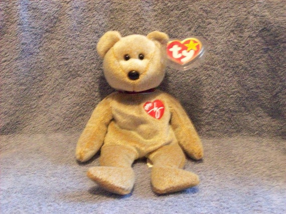Ty 1999 Signature Bear Beanie Baby  ffce5c7827