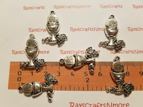 7pcs//lots Antiqued Bronze Maria And Her Child Zinc Alloy Crafts Pendants Charms