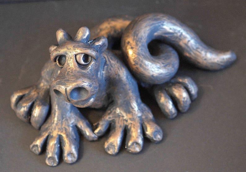 OoAK Gargoyle Sculpture  Gargoyle  Sculpture  Figurine  image 0