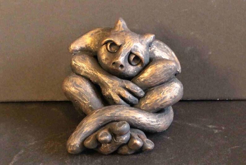 OoAK Gargoyle Sculpture Gargoyle Figurine Gargoyle Lovers image 0