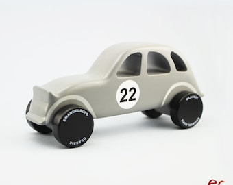 Wood Toy, Wooden Toy Car, Wooden Car for kids, boys, Classic Car, CL 10, Inspired by the Classic French People Car