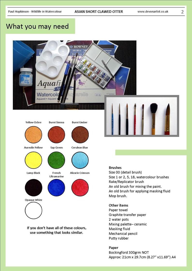 Watercolor Techniques Pdf