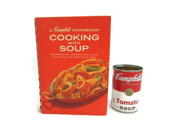 Campbell Cookbook - Cooking with Soup - 1974