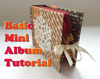 Tutorial #15: a Quick & Easy Pocketstyle Mini Album