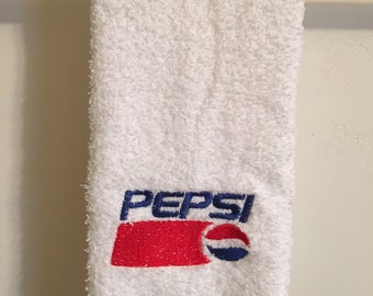 Embroidered ~PEPSI~ kitchen Hand Towel