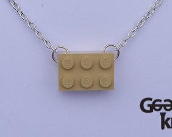 Building block necklace