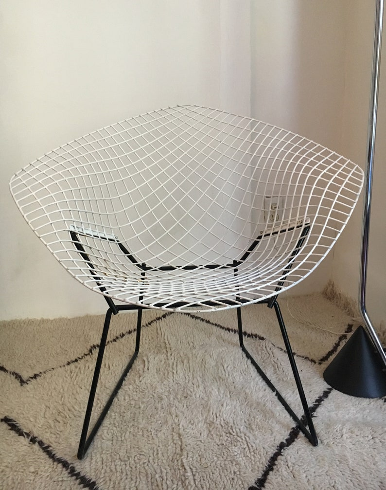 Remarkable Diamond Lounge Chair By Harry Bertoia For Knoll Mid Century Modern Eames Era Alphanode Cool Chair Designs And Ideas Alphanodeonline