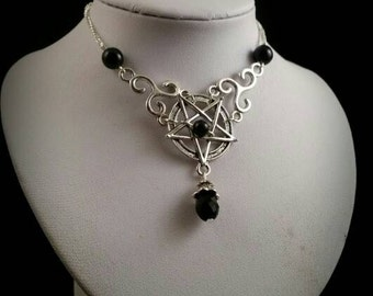 Pentagram necklace Ophelia
