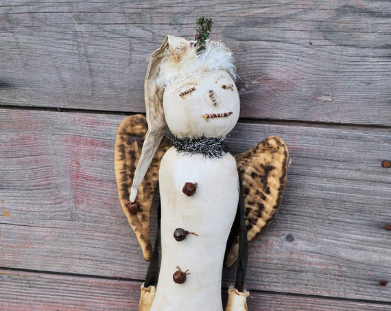 SALE! Primitive Snow Angel