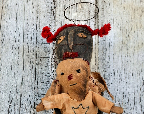 SALE! Primitive Arms of an Angel Doll